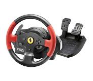 Thrustmaster T150 Ferrari Wheel Force Feedback Ohjauspyörä + pedaalit PC,PlayStation 4,Playstation 3 Musta, Punainen