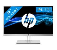 "HP EliteDisplay E223 LED display 54,6 cm (21.5"") 1920 x 1080 pikseliä Full HD Musta, Hopea"