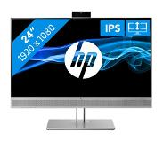 "HP EliteDisplay E243m LED display 60,5 cm (23.8"") 1920 x 1080 pikseliä Full HD Musta, Hopea"