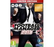 SEGA PC FOOTBALL MANAGER 2018 LIMITED EDITION