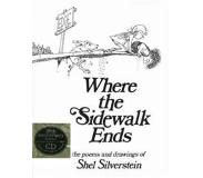 Book Where the Sidewalk Ends: Poems and Drawings [With