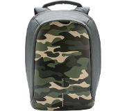 XD Design Bobby Compact Prints anti-theft backpack (Main colour: camouflage/green)