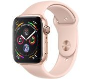Apple Watch Series 4 Gps, 40mm Gold Aluminium Case With Pink Sport Band_x000d_