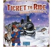 Days of Wonder Ticket To Ride Nordic Countries (Swe)
