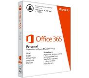 Microsoft Ms O365 Personal Mac/Win Subscription P4 Eurozone 1 License Medialess 1 Year (Se)