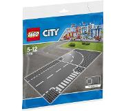 LEGO City 7281 7281 T-risteys & kaarre