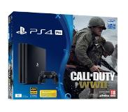 Games Playstation 4 1TB Pro Black + Call of Duty WWII