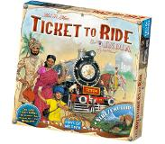 Days of wonder Ticket to Ride India Laattapohjainen peli