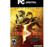 Capcom PC Games: Resident Evil 5: Gold Edition PC