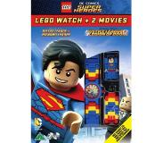 Warner Home Video Lego DC Comics Super Heroes - Lego Watch (Superman) + 2 Movies