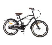 Volare Black Cruiser 18 Inch 28 cm Boys Coaster Brake Black(Wheel size 18 Inch)