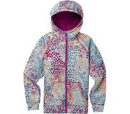 Burton Girls Crown Bonded Full-Zip Hoodie Huppari, Stout White Dots M