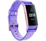 fitbit CHARGE 3 W SPECIAL EDITION AKTIIVISUUSRANNEKE LAVENDER WOVEN NFC