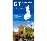 Book FINLAND OOST ITSUOMI ROAD MAP