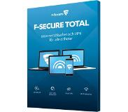F-SECURE TOTAL (SAFE+Freedome VPN), 1 vuosi, 3 laitetta