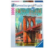 Ravensburger Retro New York Kuviopalapeli 1000 kpl