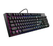 Cooler Master Gaming MasterKeys Lite L USB QWERTY Pan Nordic Musta