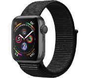 Apple Watch Series 4 40mm (harmaa/musta sport loop)