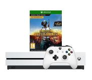 Microsoft Xbox One S 1TB Playeruknown's Battlegrounds Bundle Valkoinen 1000 GB Wi-Fi