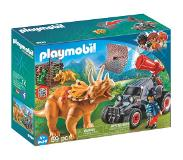Playmobil - Enemy Quad with Triceratops (9434)