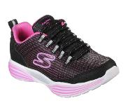 SKECHERS Hidden Lights Lenkkarit, Black/Pink 38