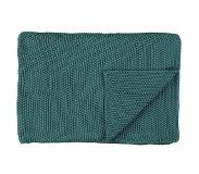 Marc O'Polo Nordic Knit Pläd 100% Bomull 50x50 cm Sage Green