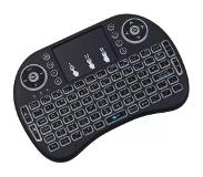 eStore Wireless TV Keyboard with Touch & LED - QWERTY