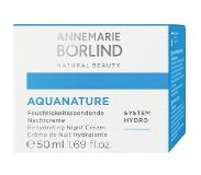 Börlind AquaNature Rehydrating Night Cream 50 ml