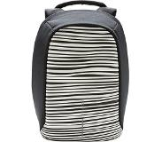 XD Design Bobby Compact Prints anti-theft backpack (Main colour: white/black)