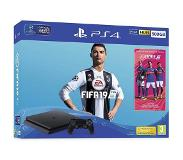 Sony PS4 SLIM 500 GB FIFA 19 + DS4-OHJAIN