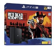 Sony PS4 PRO 1TB RED DEAD REDEMPTION 2 BUNDLE