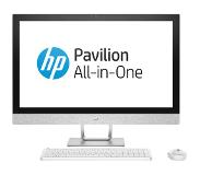 "HP Pavilion 27-r101no 68,6 cm (27"") 1920 x 1080 pikseliä 1,70 GHz 8. sukupolven Intel Core i5 i5-8400T Valkoinen All-in-One PC"