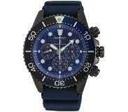 Seiko Prospex SSC701P1 Save the Ocean Black Series Solar Chronograph
