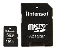 Intenso 3433470 flash-muisti 16 GB MicroSDHC Luokan 10 UHS-I