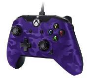 PDP PDP: Deluxe Wired Purple Camo Controller (PC/Xbox One) XONE