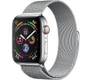 Apple Watch Series 4 (GPS + Cellular) 44mm Stainless Steel with Milanese Loop