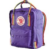 Fjällräven Kånken Rainbow Mini reppu, purple-rainbow pattern 2019 Vapaa-ajan reput