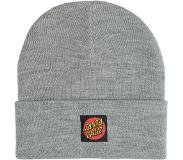 Santa Cruz Classic Label Dot Beanie dark heather Koko Uni