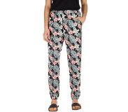 Roxy Easy Peasy Pants anthracite tropicalababa Koko M