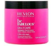 Revlon Be Fabulous Normal/Thick Cream Mask, 200ml