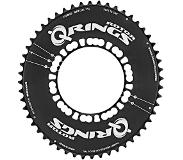 Rotor Q-Rings Aero 52-tooth chainring 110mm bolt circle