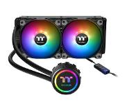 Thermaltake Water 3.0 240 ARGB Sync Water cooling Special LED Water Block Design RGB spectrum two powerful 120mm fans