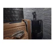 Aito SAUNA WOODBURNING STOVE AITO AK-47 TUNNEL, STONES INCLUDED (OLIVIN), Traditional stones