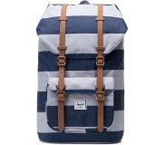 Herschel Little America Backpack Unisex, border stripe/saddle brown 2019 Vapaa-ajan reput