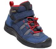 Keen Hikeport Mid WP Kengät Lapset, dress blues/firey red US 12 | EU 30 2019 Vaelluskengät