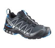 Salomon XA Pro 3D Kengät Miehet, stormy weather/black/hawaiian surf 2019 UK 9,5 | EU 44 Trail-juoksukengät