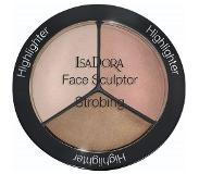 Isadora Face Sculptor Strobing - Rose Gold