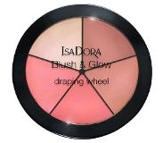 Isadora Blush & Glow Draping Wheel 18 gr No. 055