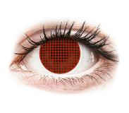 Maxvue Vision Red Screen piilolinssit - ColourVue Crazy (2 kpl)
