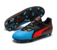 Puma ONE 19.4 JR FG/AG Jalkapallokengät, Blue/Red 37,5